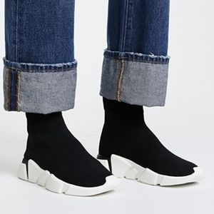 NEW Jeffrey Campbell Redman Jogger Black & White